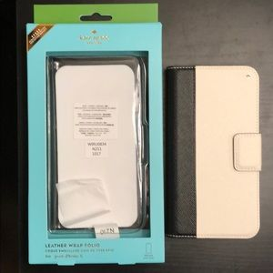 iPhone X Kate Spade Leather Folio Case